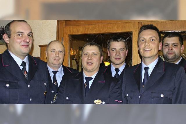 Feuerwehr-Vorstand einmal durchgemischt