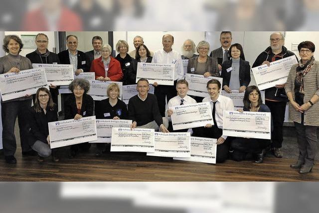 12 000 Euro an Spenden