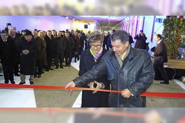 470 Millionen Franken teure Straße zwischen Liestal und Pratteln eröffnet