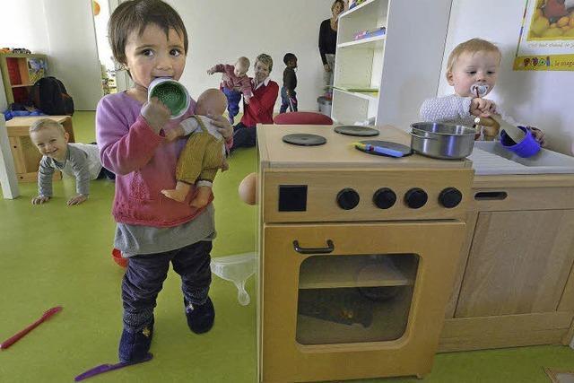 Deutsch-Französischer Kindergarten ist in ehemalige Zoohandlung Burkart eingezogen
