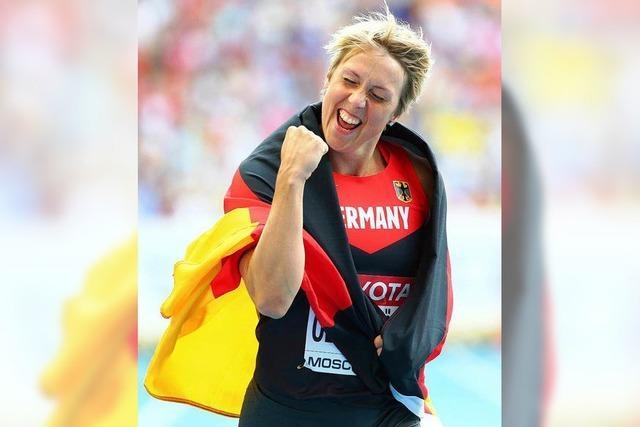 Christina Obergföll ist Sportlerin des Jahres