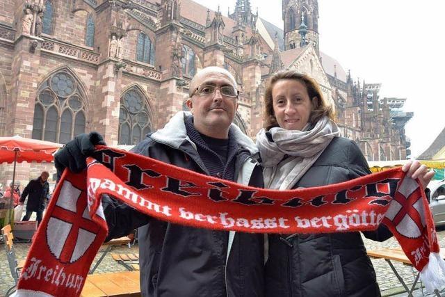 Fans aus Sevilla genießen gewonnene Reise zum Spiel nach Freiburg