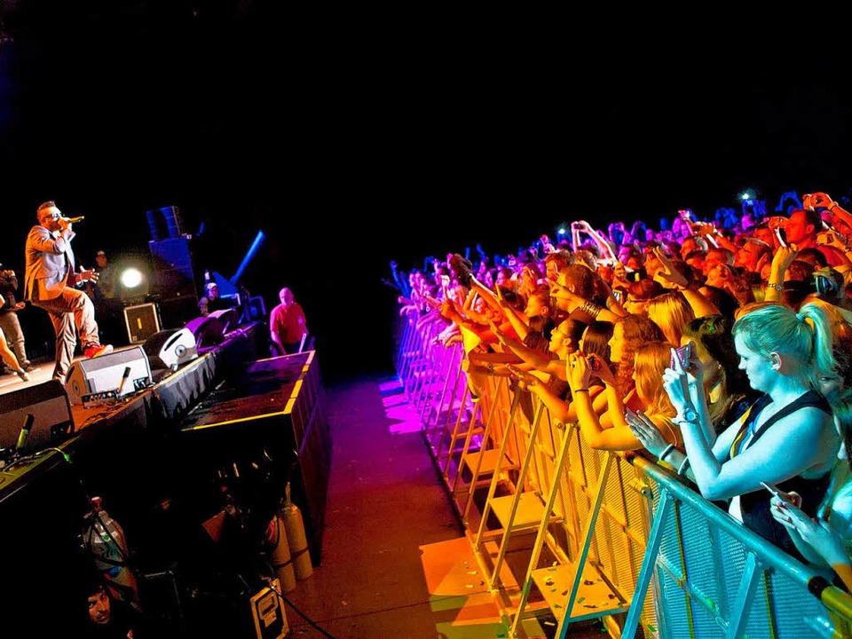 Sean Paul im Mai 2013 in der Rothaus-A...r ab, klagt Konzertveranstalter Koko.   | Foto: Janos Ruf