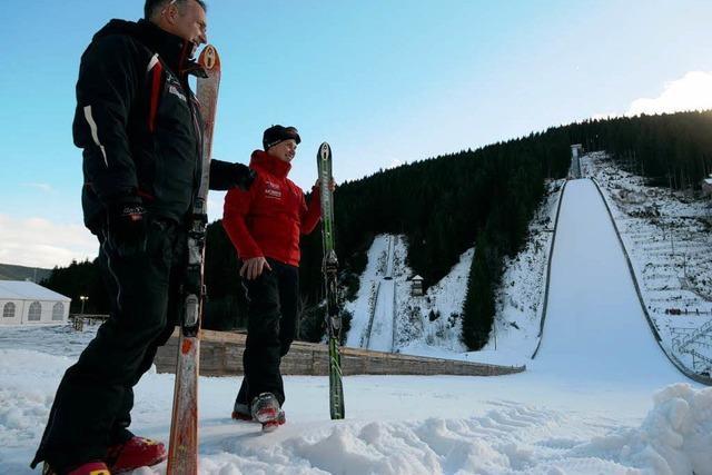 Fragen und Antworten zum Skispringen in Neustadt