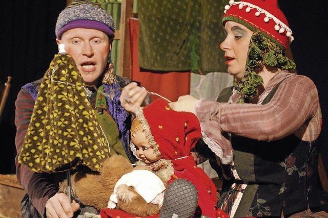 Claus bei den Zwergen