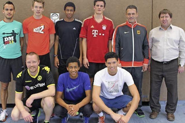 Leichtathleten trainierten für WM