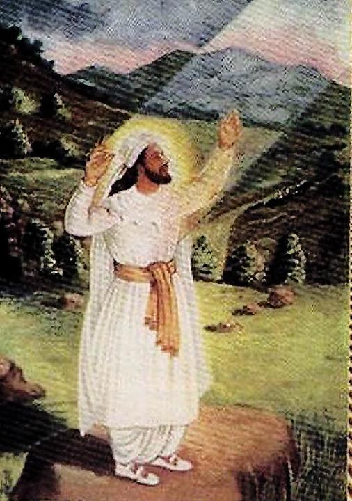 Der  Prophet  Zarathustra in einer persischen Darstellung  | Foto: wikipedia