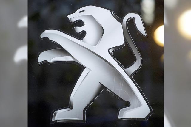 Paris und Peking retten Peugeot Citröen