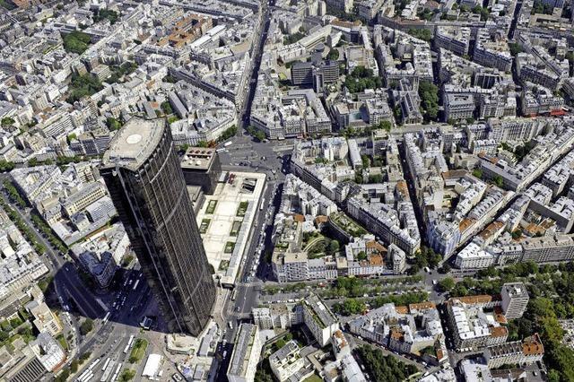 Der höchste Wolkenkratzer von Paris ist Asbest-verseucht