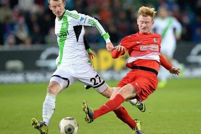 VFL Wolfsburg siegt überlegen beim SC Freiburg