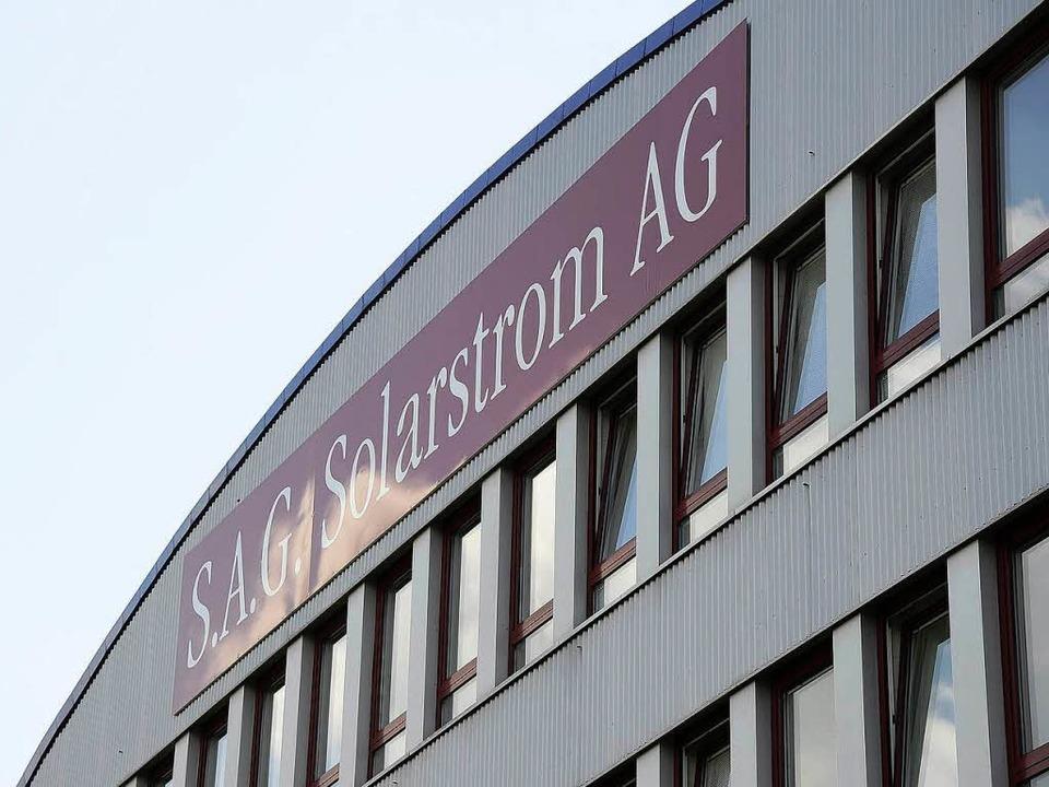 Die S.A.G. Solarstrom ist pleite.  | Foto: Ingo Schneider