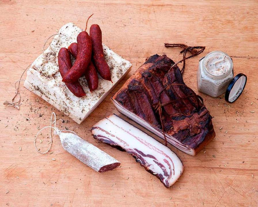 Deftiges vom Mangalitza-Schwein   | Foto: Michael Wissing