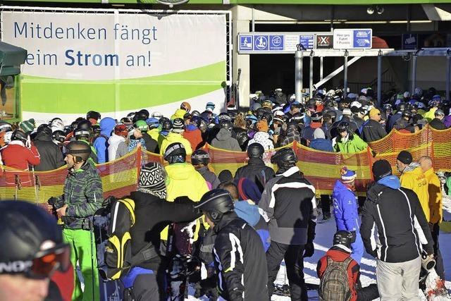 Bereits 190 000 Wintersportler am Seebuck