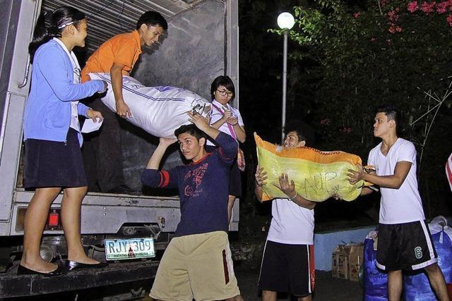 Konkrete Hilfe für Menschen auf den Philippinen