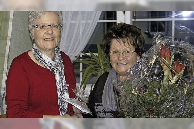 Dank an Helga Hasenberg für 25 Jahre vollen Einsatz