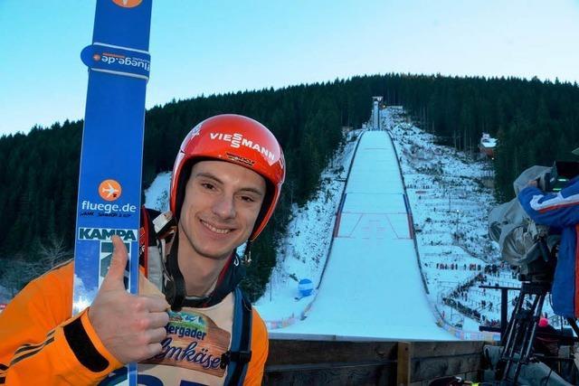 Andreas Wank wird Dritter in der Qualifikation