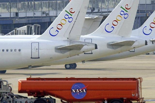 Google-Chefs sollen jahrelang auf Kosten der Nasa geflogen sein