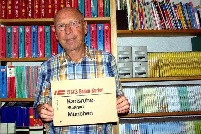Ohne Umstieg nach München: Baden-Kurier vor dem Start