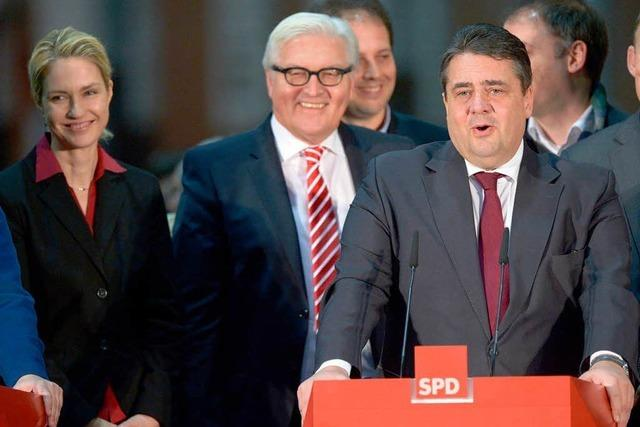 Deutschland wird wieder von einer Großen Koalition regiert