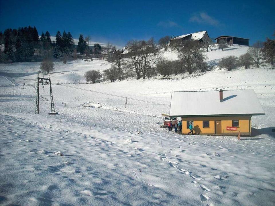 Der Bergbrunnenlift in Gersbach.  | Foto: Hartmut Deiss