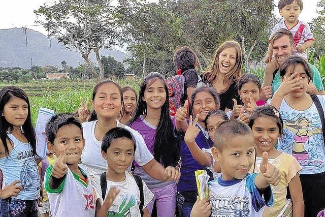 Als Voluntario und Voluntaria nach Peru