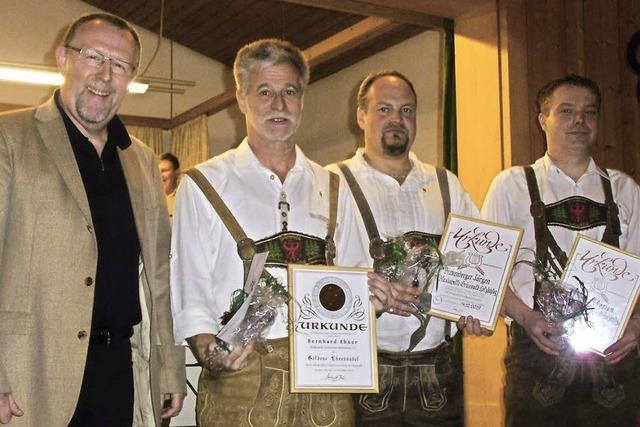 90 Jahre Waldhorn Posaune und Trompete