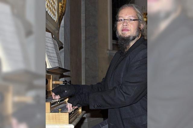 Zweihändig auf zwei Orgeln