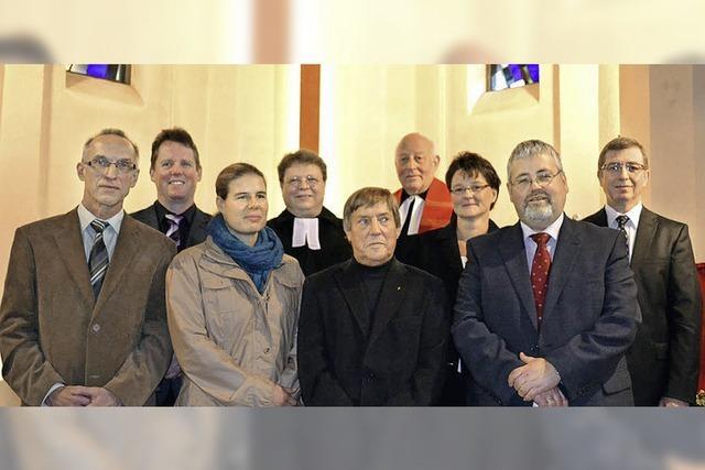 Amtseinführung des neuen Ältestenkreises