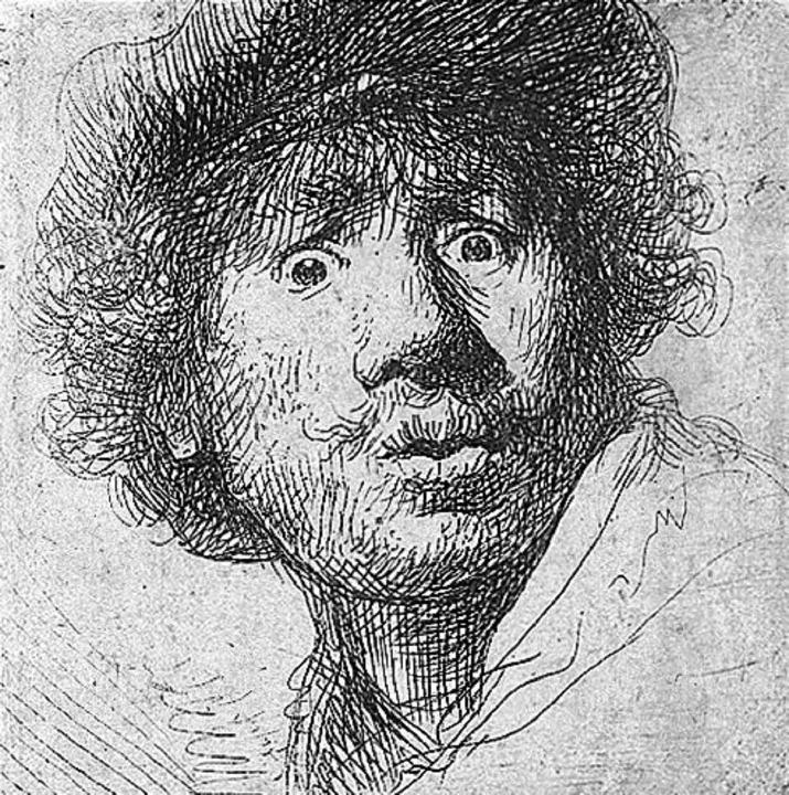 Verehrter Anti-Held: Rembrandt-Selbstbildnis   | Foto: wikipedia