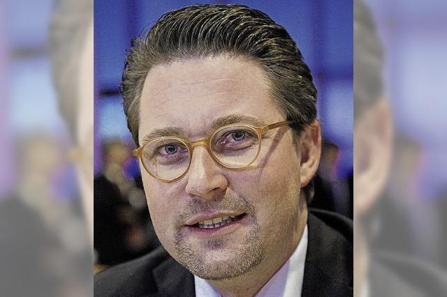 Seehofers neuer Dobrindt