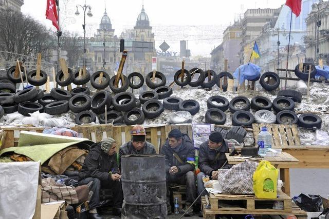 Die Ukraine wendet sich Russland zu