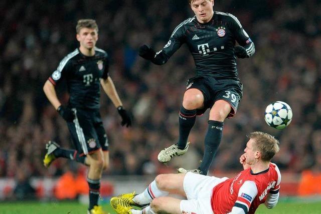 Titelverteidiger FC Bayern trifft in Champions League auf Arsenal
