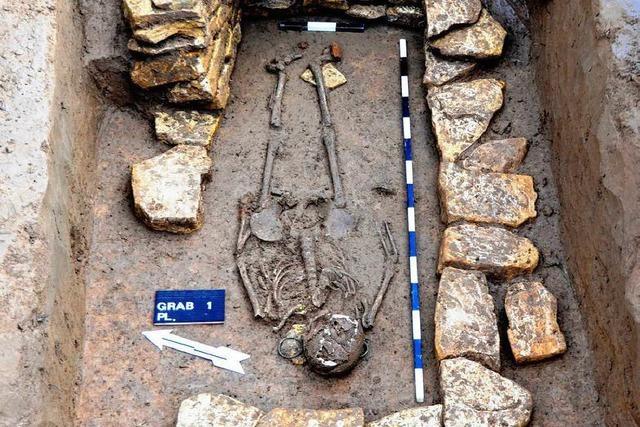 Knochenfund: Gräber in Pfaffenweiler entdeckt