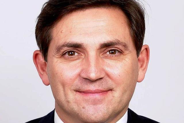 Robert Ernecker will Oberbürgermeister werden