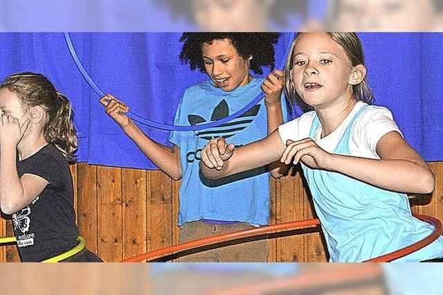Hula-Hoop zum Advent