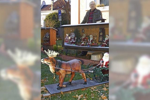 VON 1 BIS 24: Weihnachtswelt im eigenen Garten
