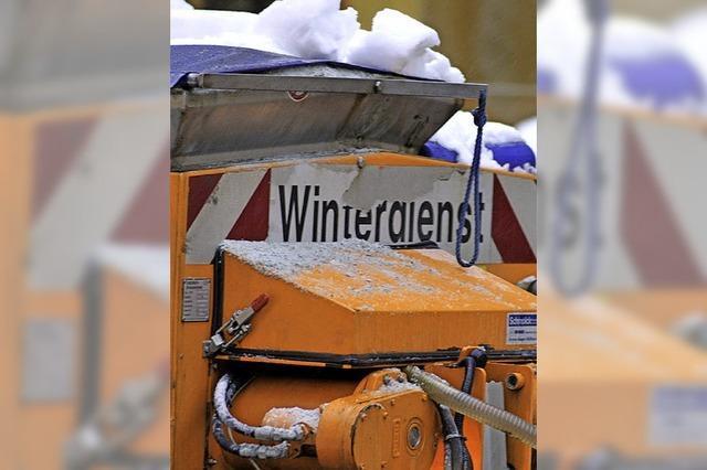 Mit einem Plan starten die Räumdienste in den Winter