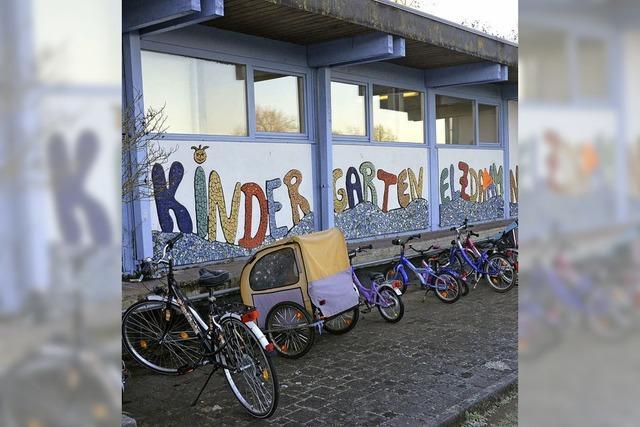 Kindergarten rückt zur Elzhalle hin