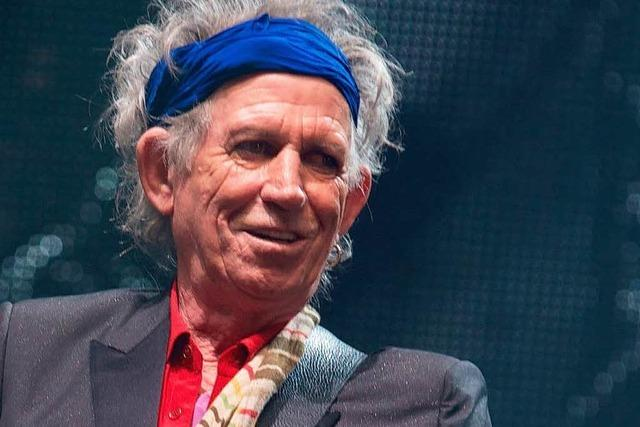 Rolling-Stones-Gitarrist Keith Richards wird 70