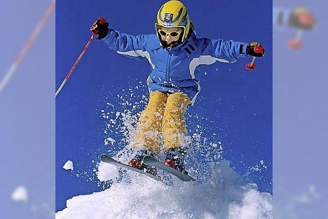 Spaß am Sport im Schnee