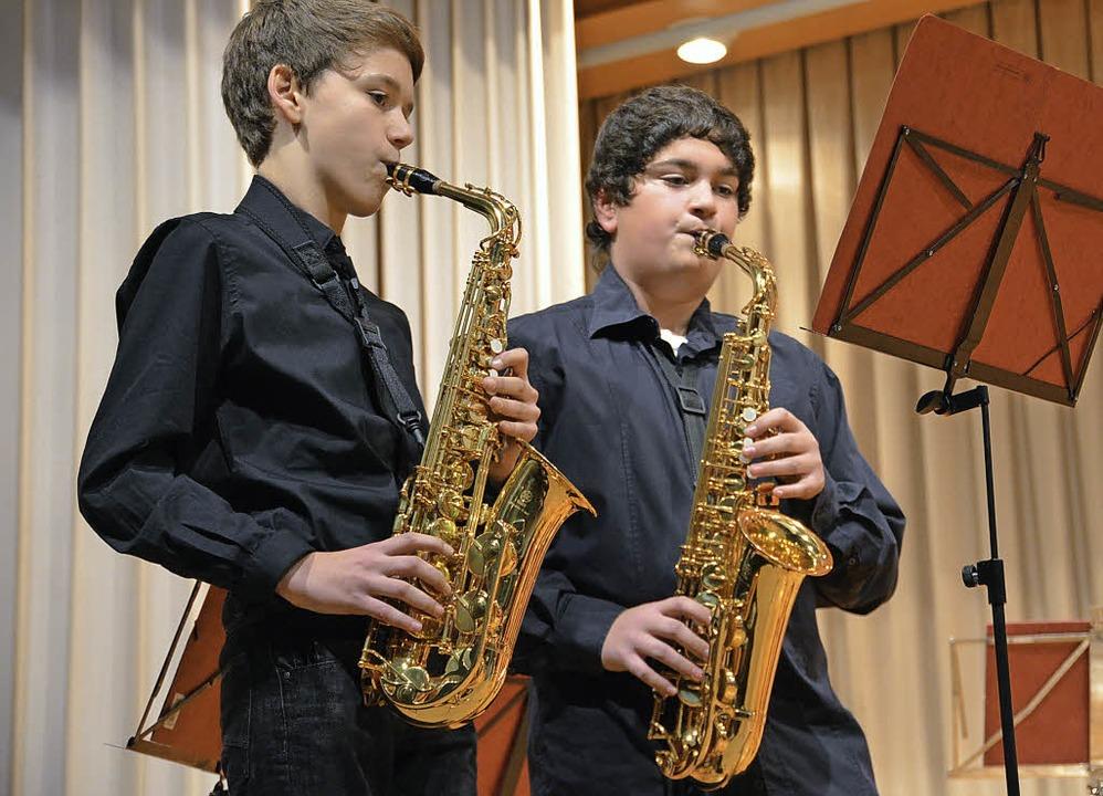 """""""Ein Winterkonzert mit Freunden&...den Norsinger Musikern überschrieben.     Foto: Susanne Ehmann"""
