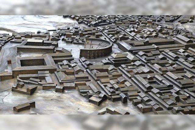 In Augusta Raurica steht Modell einer römischen Stadt