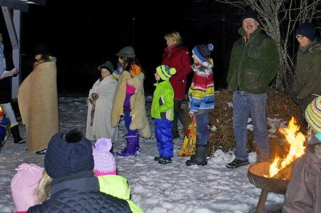 Familien laden zum feiern ein