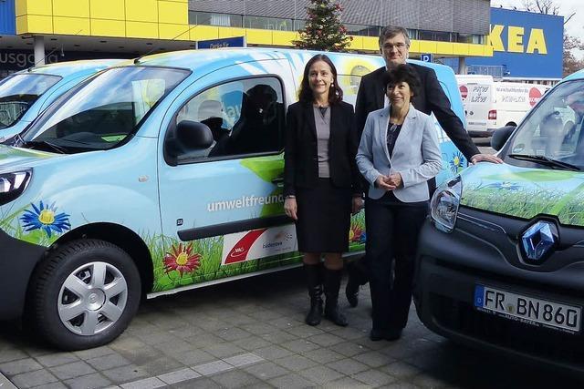 Möbeltransport per Elektromobil