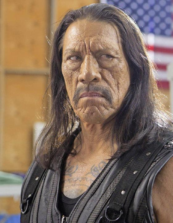 Danny Trejo als Machete     Foto: dpa
