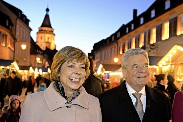 Für Gauck gibt's eine Ausnahme