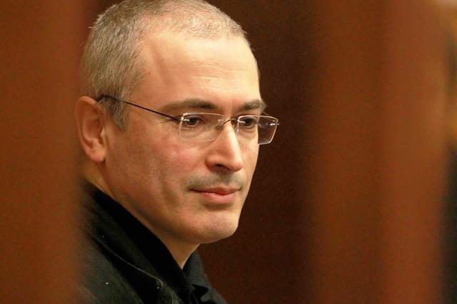 Putin: Chodorkowski, Pussy Riot und Greenpeace-Aktivisten werden begnadigt