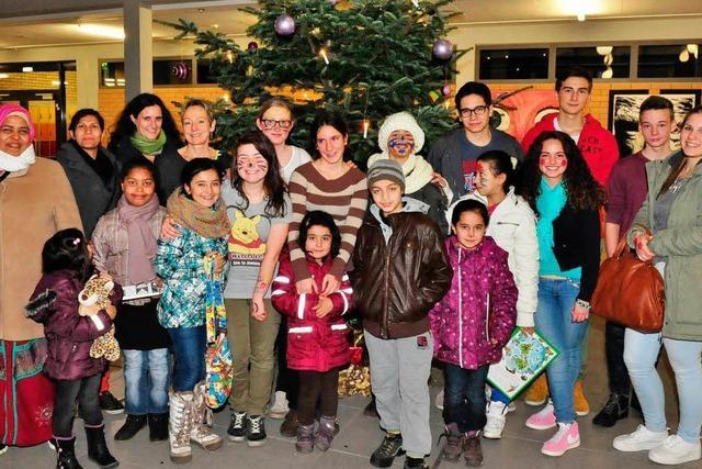 Weihnachtsfeier für Lahrer Asylkinder