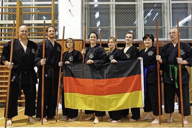 Medaillen für Karateka
