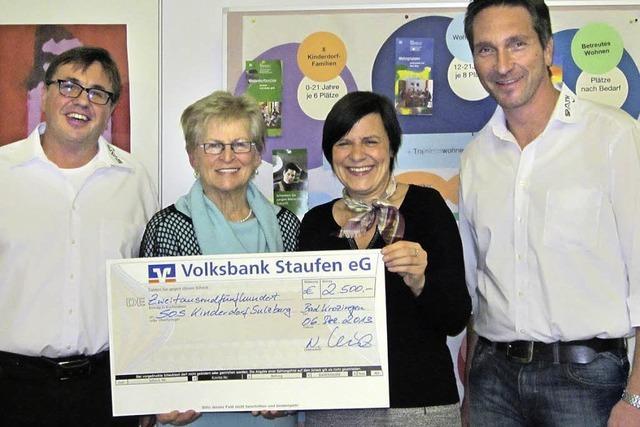 2500 Euro für Kinderdorf